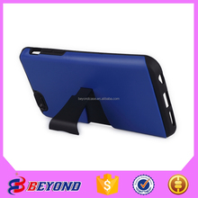china supplier tpu+pc leather phone case cover for iphone 6