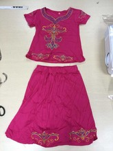 old design tops+ skirt Traditional African Clothing summer wholesale african clothing children