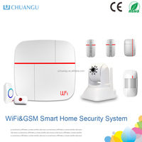 2015wifi camera+ GSM&WIFI smart home security system Android / IOS APP & home burglar alarm