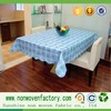 Good quality of pp non-woven fabric for making tablecloth,rectangle fabric cover