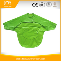 Wholesale PVC/Plastic Kids Kitchen Apron/Cooking Apron with sleeves