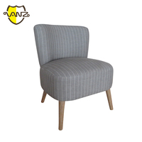 Hotel room furniture antique armless wooden chair VZL005
