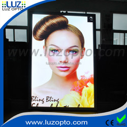 led light poster,acrylic sheet poster frame wholesale,led light frame