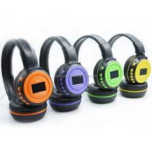 Nature stereo sound Headband Style and Wireless Communication headphones