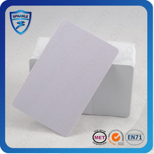 film lamination pvc white magnetic stripe rfid card for your custom printing
