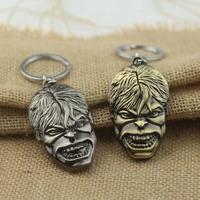Hulk Rock Band LOGO Keychain Influx Of People Cartoon Toys Key Ring Fob souvenirs K-110