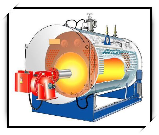 Quick Steam Generation 3-pass Gas Fired High Pressure Steam Boiler ...