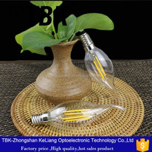 E14 holder 85lm/w silver holder candle light use in pendant light
