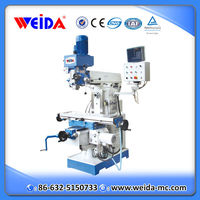 Weida good quality China drilling milling machine ZX6350ZA with CE for sale
