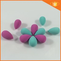 Mini type water drop shape latex free polyurethane makeup sponge