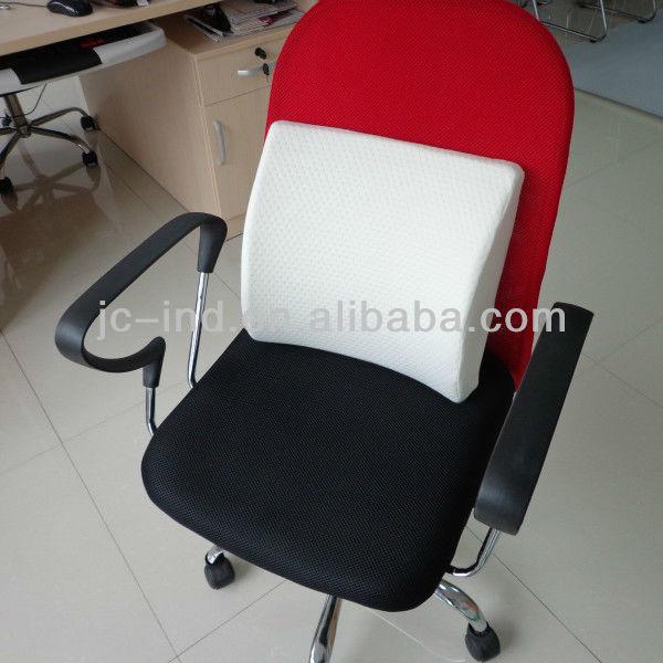 De nuevo el apoyo cojines sillas de oficina coj n for Cojin lumbar silla oficina