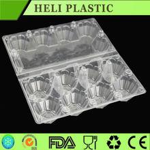 transparent plastic egg storage tray