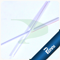 Food Grade PP Unwrapped Telescopic Drinking Straw