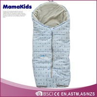 French style cheap baby sleeping bag soft thick children sleeping bag