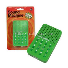 ECO-friendly material 16 buttons different voice sound machine toys