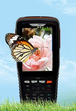 made in china hot sale black color qualcomn data collector ndustrial pda with scanner