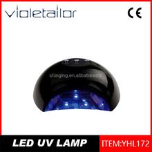 New arrival top quality mini led finger uv lamp nail dryer
