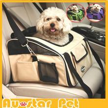 High Quality Unique Pet Car Carriers / Dog Car Seat Protector / Pet Car Bag