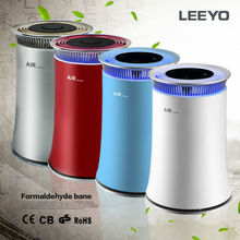 new desk negative ion air purifier with light welcome OEM