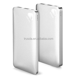 RoHS 5V/2A Slim Mobile Power Bank 5000 mAh