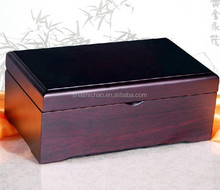 Customized design wooden packing crate gift box by shanghai manufacturer