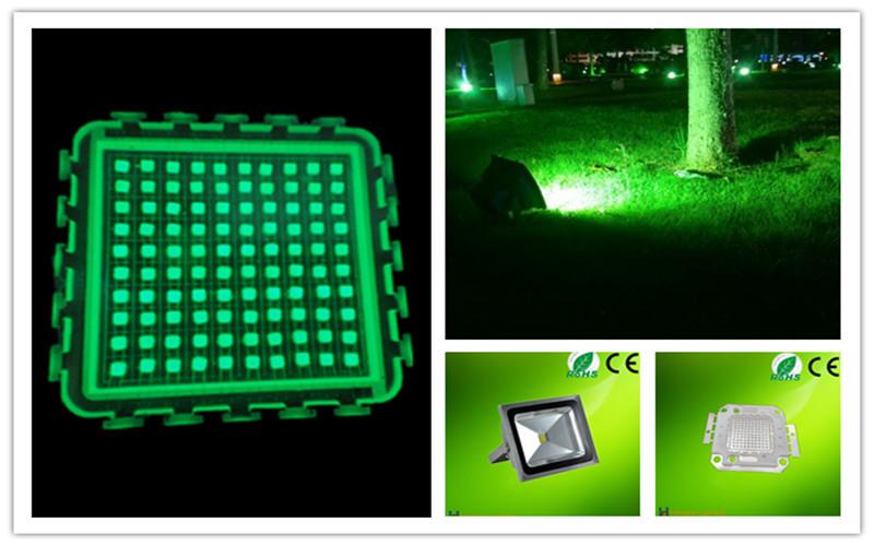 100w green