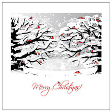 Christmas tree and snow paintings arts and crafts