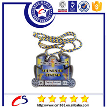 factory price custom shaped 3d medals no minimum order