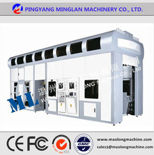 ML/FF-D Recycled Material ISO certificate plastic film six color flexo printing machine