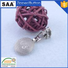 nylon zipper slider /gold round design