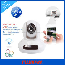 Automatic Alarm Wireless IP Camera Motion Detection CCTV Onvif P2P Hot Weather Outdoor Wireless Ip Cameras