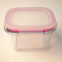 Microwave oven lunch box/glass square storge box/ microwave safe lunch box