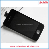 complete original touch screen display+digitizer for iphone 4 4s lcd glass screen