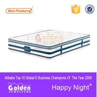 Bedroom bed sleep well pocket spring mattress S8337#