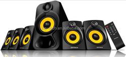 New arrive JNP-S-B353U-PI subwoofer 5.1 channel Active Multimedia Speaker System,good quality home theater speaker