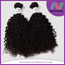 best quality short hair brazilian curly weave