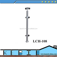 chinese manufacturing companies Stainless Steel steel corner fence post for home decor