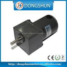 High Torque Low Speed 6v DC 60mm DS-60SSTG60 12 volt dc motor speed controller