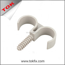 pipe clamps single plastic pipe clips