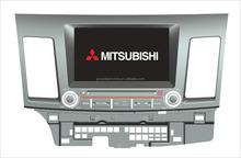 car dvd for MITSUBISHI MITSUBISHI LANCER EX with GPS android 4.4.4