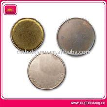 Moneda en blanco de cobre