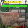 grande corte de madeira máquina de madeira serra horizontal