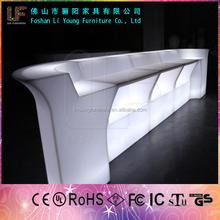 Colorful Plastic Waterproof Led Bar Counter Table LGL-8282