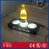 Lighting bottle pad led illuminate sale promotion sign