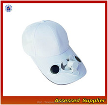 ZD535 Solar Powered Fan Hat/ solar cap with fan