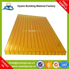 Building material colored plastic sheets solar panel plastic panel pc sheets