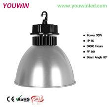 Ali06 modern pendent lighting high bay led 36v dc 30w epistar/bridgelux cob lighting