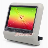 "9"" Car Headrest Mount Portable DVD Player"