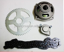 6T Clutch Drum Bell Housing +T8F Chain +Sprocket 49cc Pocket Quad Dirt Bike ATV
