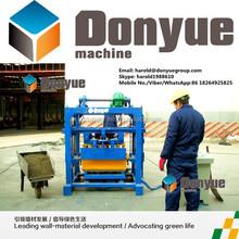 QT40-2 Semi Automatic Machine For Making Concrete Blocks